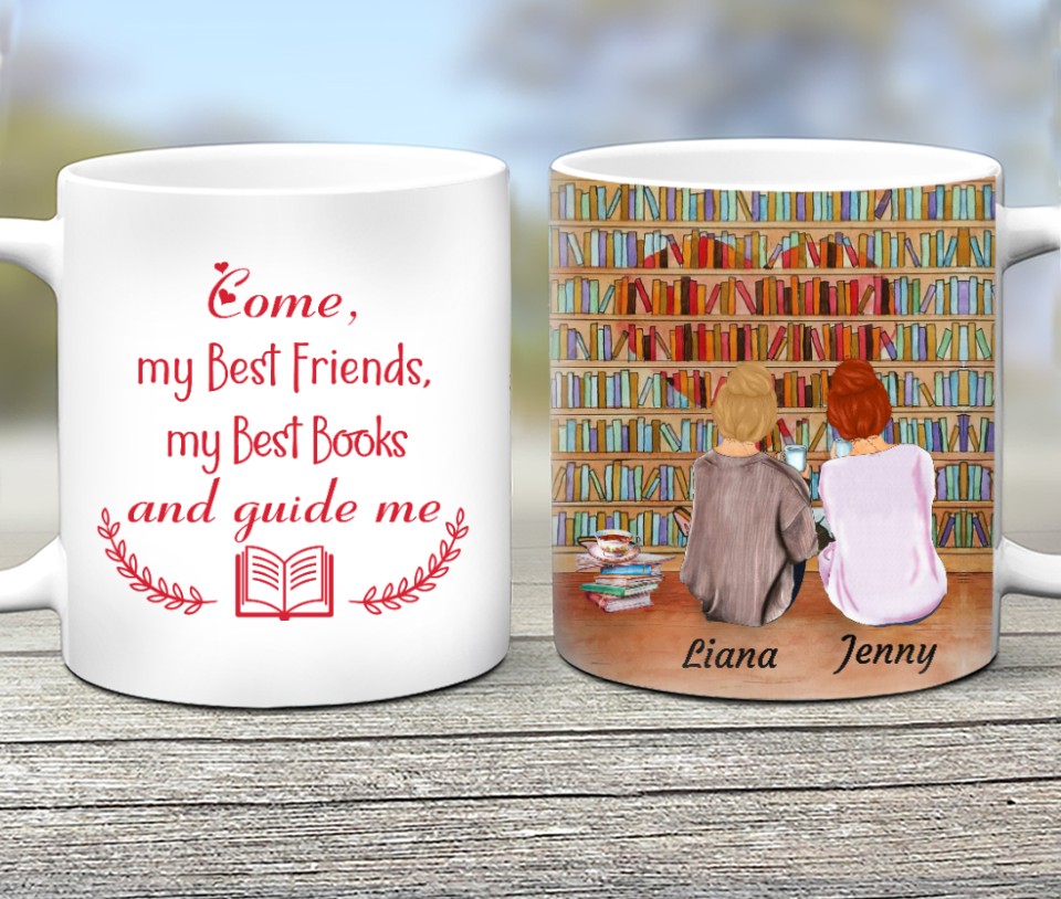 Custom Personalized Best Friend Coffee Mugs Birthday Gift Ideas For Si Personalizedwitch,Best Lighting For Dining Room Table